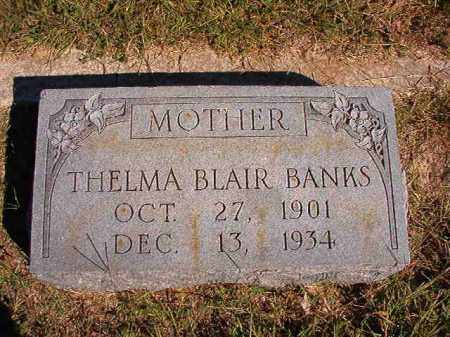 BLAIR BANKS, THELMA - Lonoke County, Arkansas | THELMA BLAIR BANKS - Arkansas Gravestone Photos