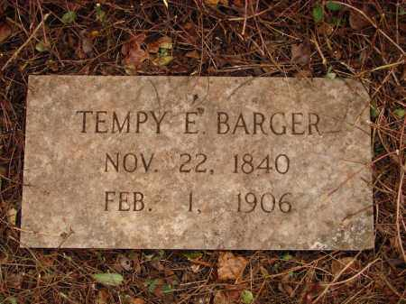 BARGER, TEMPY E - Lonoke County, Arkansas | TEMPY E BARGER - Arkansas Gravestone Photos