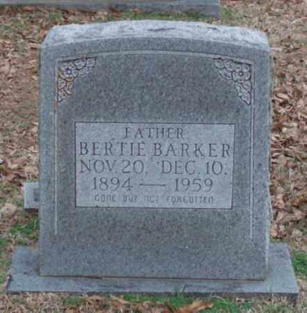 BARKER, BERTIE - Lonoke County, Arkansas | BERTIE BARKER - Arkansas Gravestone Photos