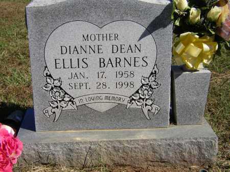 ELLIS BARNES, DIANNE DEAN - Lonoke County, Arkansas | DIANNE DEAN ELLIS BARNES - Arkansas Gravestone Photos