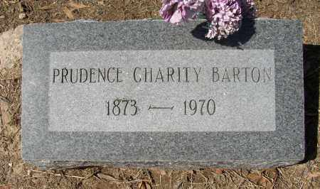 BARTON, PRUDENCE CHARITY - Lonoke County, Arkansas | PRUDENCE CHARITY BARTON - Arkansas Gravestone Photos