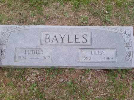 BAYLES, LUTHER ALFRED - Lonoke County, Arkansas | LUTHER ALFRED BAYLES - Arkansas Gravestone Photos