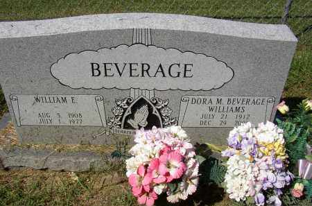 BEVERAGE, WILLIAM E. - Lonoke County, Arkansas | WILLIAM E. BEVERAGE - Arkansas Gravestone Photos