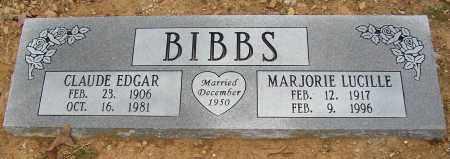 BIBBS, MARJORIE LUCILLE - Lonoke County, Arkansas | MARJORIE LUCILLE BIBBS - Arkansas Gravestone Photos
