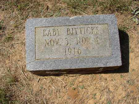 BITTICKS, BABY - Lonoke County, Arkansas | BABY BITTICKS - Arkansas Gravestone Photos