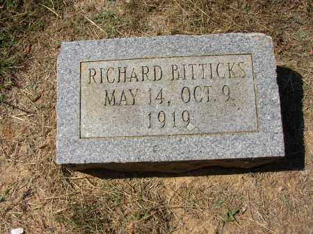 BITTICKS, RICHARD - Lonoke County, Arkansas | RICHARD BITTICKS - Arkansas Gravestone Photos