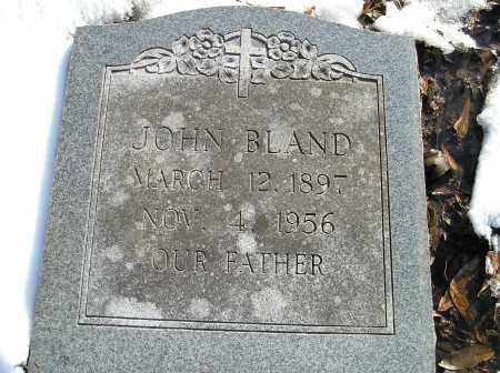 BLAND, JOHN - Lonoke County, Arkansas | JOHN BLAND - Arkansas Gravestone Photos