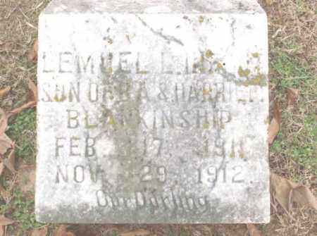 BLANKINSHIP, LEMUEL L - Lonoke County, Arkansas | LEMUEL L BLANKINSHIP - Arkansas Gravestone Photos