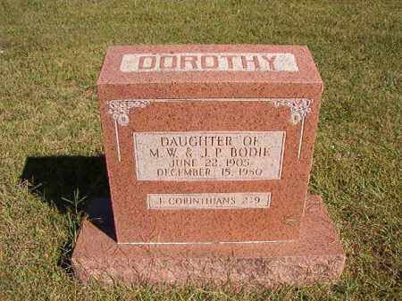 BODIE, DOROTHY - Lonoke County, Arkansas | DOROTHY BODIE - Arkansas Gravestone Photos