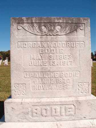 BODIE, MORGAN WOODRUFF - Lonoke County, Arkansas | MORGAN WOODRUFF BODIE - Arkansas Gravestone Photos