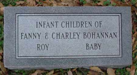BOHANNAN, ROY - Lonoke County, Arkansas | ROY BOHANNAN - Arkansas Gravestone Photos