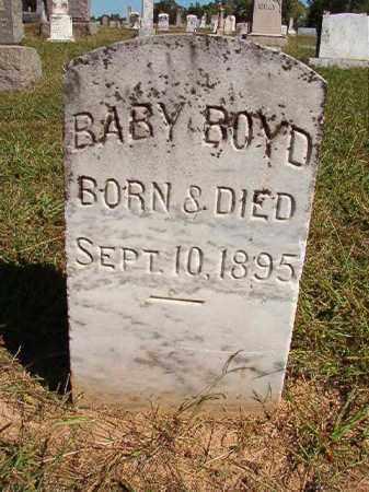 BOYD, BABY - Lonoke County, Arkansas | BABY BOYD - Arkansas Gravestone Photos