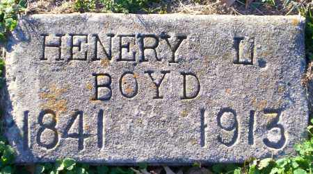 BOYD, HENERY L - Lonoke County, Arkansas | HENERY L BOYD - Arkansas Gravestone Photos