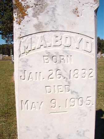 BOYD, M A - Lonoke County, Arkansas | M A BOYD - Arkansas Gravestone Photos