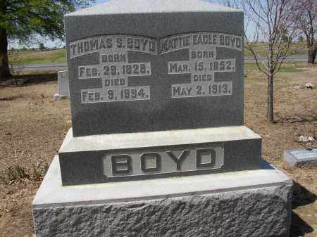 BOYD, THOMAS S. - Lonoke County, Arkansas | THOMAS S. BOYD - Arkansas Gravestone Photos