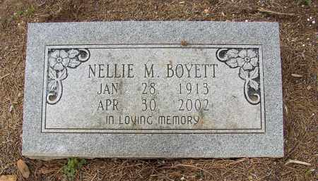 BOYETT, NELLIE M. - Lonoke County, Arkansas | NELLIE M. BOYETT - Arkansas Gravestone Photos