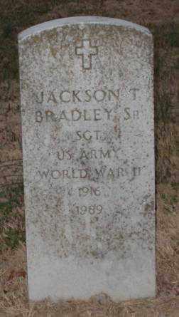 BRADLEY,SR. (VETERAN WWII), JACKSON T. - Lonoke County, Arkansas | JACKSON T. BRADLEY,SR. (VETERAN WWII) - Arkansas Gravestone Photos