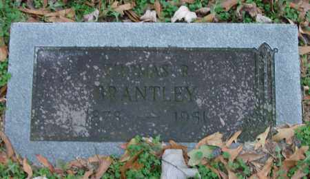 BRANTLEY, THOMAS - Lonoke County, Arkansas | THOMAS BRANTLEY - Arkansas Gravestone Photos
