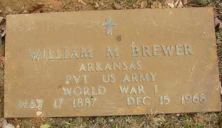BREWER (VETERAN WWI), WILLIAM M - Lonoke County, Arkansas | WILLIAM M BREWER (VETERAN WWI) - Arkansas Gravestone Photos