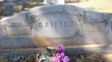BRITTON, FRANCES - Lonoke County, Arkansas | FRANCES BRITTON - Arkansas Gravestone Photos