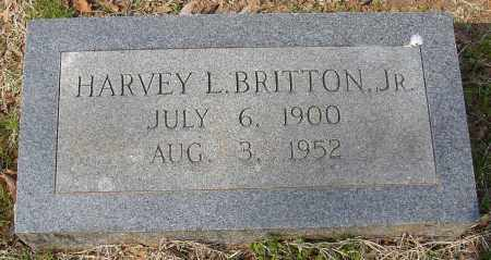 BRITTON, JR, HARVEY L. - Lonoke County, Arkansas | HARVEY L. BRITTON, JR - Arkansas Gravestone Photos