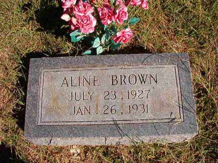 BROWN, ALINE - Lonoke County, Arkansas | ALINE BROWN - Arkansas Gravestone Photos