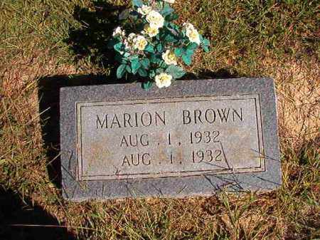 BROWN, MARION - Lonoke County, Arkansas | MARION BROWN - Arkansas Gravestone Photos