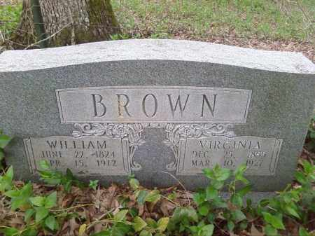 BROWN, VIRGINIA - Lonoke County, Arkansas | VIRGINIA BROWN - Arkansas Gravestone Photos
