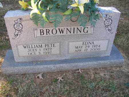 BROWNING, WILLIAM PETE - Lonoke County, Arkansas | WILLIAM PETE BROWNING - Arkansas Gravestone Photos