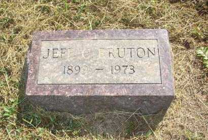 BRUTON, JEFF C. - Lonoke County, Arkansas | JEFF C. BRUTON - Arkansas Gravestone Photos