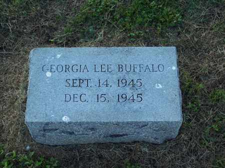 BUFFALO, GEORGIA LEE - Lonoke County, Arkansas | GEORGIA LEE BUFFALO - Arkansas Gravestone Photos
