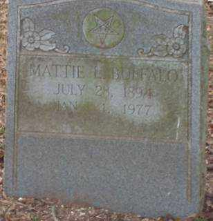 BUFFALO, MATTIE L - Lonoke County, Arkansas | MATTIE L BUFFALO - Arkansas Gravestone Photos
