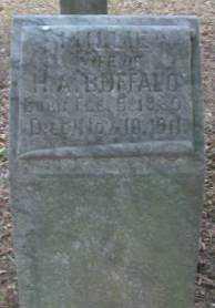 BUFFALO, MILLIE - Lonoke County, Arkansas | MILLIE BUFFALO - Arkansas Gravestone Photos