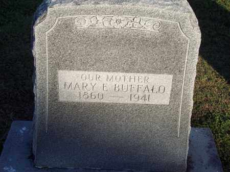 BUFFALO, MARY E - Lonoke County, Arkansas | MARY E BUFFALO - Arkansas Gravestone Photos