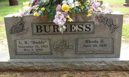 BURGESS, L. R. (BUDDY) - Lonoke County, Arkansas | L. R. (BUDDY) BURGESS - Arkansas Gravestone Photos