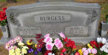 BURGESS, HENRY F. - Lonoke County, Arkansas | HENRY F. BURGESS - Arkansas Gravestone Photos