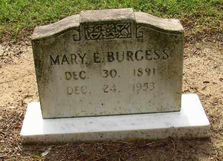 BURGESS, MARY E. - Lonoke County, Arkansas | MARY E. BURGESS - Arkansas Gravestone Photos