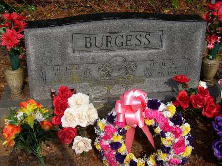 BURGESS, RICHARD B. - Lonoke County, Arkansas | RICHARD B. BURGESS - Arkansas Gravestone Photos