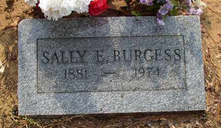 BURGESS, SALLY E. - Lonoke County, Arkansas | SALLY E. BURGESS - Arkansas Gravestone Photos