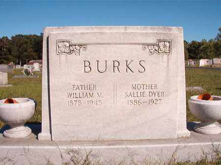 DYER BURKS, SALLIE - Lonoke County, Arkansas | SALLIE DYER BURKS - Arkansas Gravestone Photos