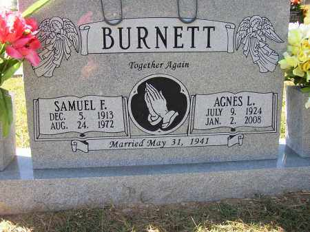 BURNETT, AGNES L. - Lonoke County, Arkansas | AGNES L. BURNETT - Arkansas Gravestone Photos