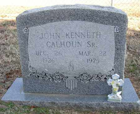 CALHOUN, JOHN KENNETH - Lonoke County, Arkansas | JOHN KENNETH CALHOUN - Arkansas Gravestone Photos