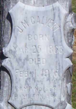 CALVERT, J M - Lonoke County, Arkansas | J M CALVERT - Arkansas Gravestone Photos
