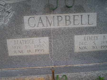 CAMPBELL, KELLEY B - Lonoke County, Arkansas | KELLEY B CAMPBELL - Arkansas Gravestone Photos