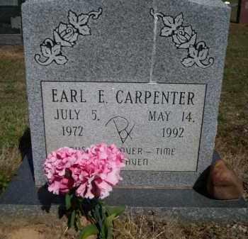 CARPENTER, EARL E - Lonoke County, Arkansas | EARL E CARPENTER - Arkansas Gravestone Photos