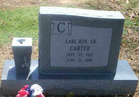 CARTER, EARL ROY SR - Lonoke County, Arkansas | EARL ROY SR CARTER - Arkansas Gravestone Photos