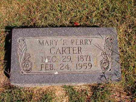 PERRY CARTER, MARY F - Lonoke County, Arkansas | MARY F PERRY CARTER - Arkansas Gravestone Photos