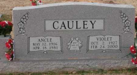 CAULEY, ANCLE E. - Lonoke County, Arkansas | ANCLE E. CAULEY - Arkansas Gravestone Photos