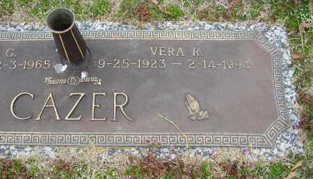 CAZER, VERA R. - Lonoke County, Arkansas | VERA R. CAZER - Arkansas Gravestone Photos