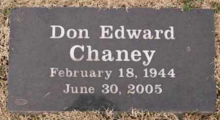 CHANEY, DON EDWARD - Lonoke County, Arkansas | DON EDWARD CHANEY - Arkansas Gravestone Photos